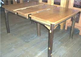 Farmhouse Table With Leaves Dining Room Tables Extensions