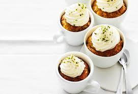 karotten nuss cupcakes mit frischkäse topping