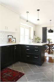 Tile Slate Flooring Really Encourage Best 15 Floor Kitchen Ideas