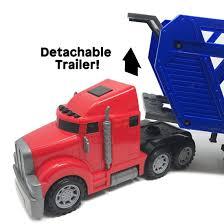 100 Boley Trucks BOLEY 5in1 Big Rig Hauler Truck Carrier Toy Walmartcom