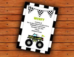 Monster Truck Party Invitation 5x7 Printable Digital File | Monster ... Birthday Monster Party Invitations Free Stephenanuno Hot Wheels Invitation Kjpaperiecom Baby Boy Pinterest Cstruction With Printable Truck Templates Monster Birthday Party Invitations Choice Image Beautiful Adornment Trucks Accsories And Boy Childs Set Of 10 Monster Jam Trucks Birthday Party Supplies Pack 8 Invitations