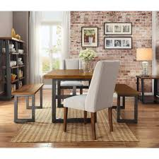 Walmart Dining Room Tables And Chairs by Better Homes And Gardens Mercer Dining Table Walmart Com