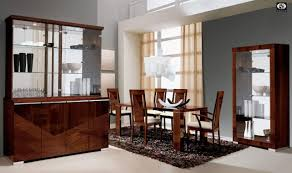 Modern Dining Room Cabinets For Inspiration Ideas Brilliant Contemporary Table And China Cabinet Built In Buffet