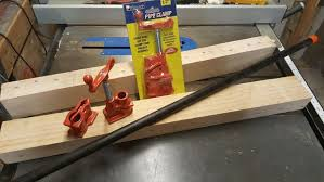 pipe clamp bench vise 6 steps with pictures