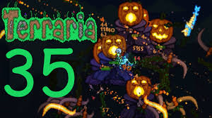 Terraria Halloween Event Arena by Terraria Halloween Event