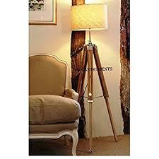 Surveyor Floor Lamp Target by Possini Euro Cherry Finish Wood Surveyor Tripod Floor Lamp