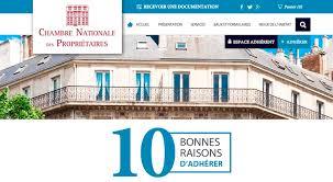 chambre nationale refonte du site de la chambre nationale des propriétaires agence