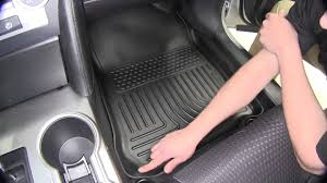 Weathertech Vs Husky Liners Floor Mats by Review Of The Husky Weatherbeater Front And Rear Floor Mats On A