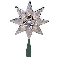 The Holiday Aisle Traditional Mosaic 8 Point Star Christmas Tree Topper