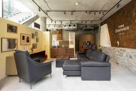 showroom canapé duvivier canapes canapé avec méridienne maillol en cuir noir et