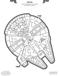 Angry Birds Star Wars Coloring Pictures To Print Lego 7 Pages Rebels Colouring Sheet Falcon Maze
