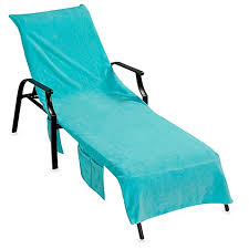 Terry Cloth Lounge Chair Cushion Covers by Ultimate Chaise Lounge Cover Turquoise Bed Bath U0026 Beyond
