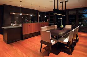 Stunning Asian Kitchen And Dining Space Design With Zen Like Atmosphere Buddha At Its