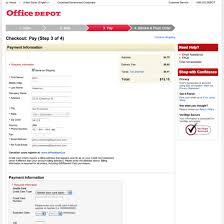 fice Depot s Checkout Process Usability Benchmark Score 228
