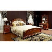 details zu schlafzimmer barock klassisch gold italienisch exklusiv luxus massivholz kirsch