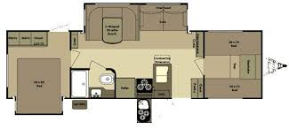 open range roamer rt296bhs travel trailer floor plan turn bunk