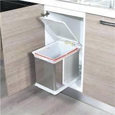 leroy merlin poubelle cuisine poubelle meuble cuisine poubelle 2 bacs de capacitac 70 litres