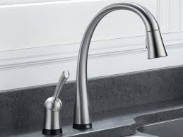 Touchless Bathroom Faucet Brushed Nickel by Faucet Interesting Sonoma Pull Down Kitchen Faucet Integral Soap
