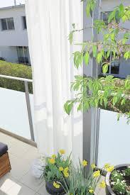 10 balkon ideen balkon terrassen vorhänge kleines balkon