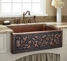 copper kitchen sinks glorema