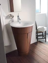 bathroom starck 600mm vanity unit with duravit sink and brown