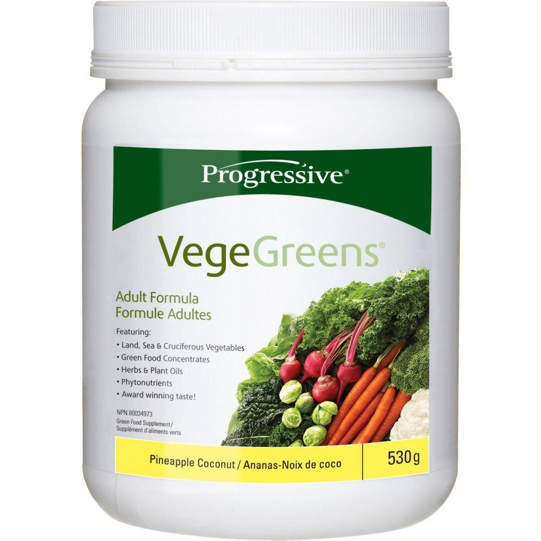 Progressive VegeGreens 530g - Pineapple Coconut