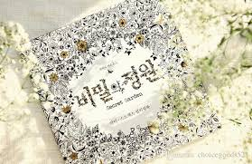 Decompression Artifact Secret Garden An Inky Treasure Hunt And Coloring Book Korean Version Learning