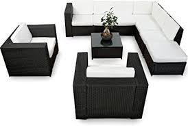 de xinro xxxl 25tlg polyrattan gartenmöbel lounge