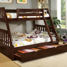 a solid wood twin over full bunk bed option for a shared kid u0027s