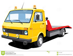 100 Tow Truck Clipart Tan Flatbed