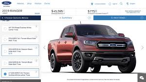 2019 Ford Ranger Configurator Secretly Goes Online [UPDATE] Used Ford Ranger Xl 4x4 Dcb Tdci No Vat Full Service History Salvage 1999 Ford Ranger Xlt Subway Truck Parts Inc Auto 2012 For Sale In Malaysia Rm55800 Mymotor 2004 At Cleveland Mall Oh Iid 17990144 2018 Wildtrak 32 Tdci 4wd Double Cab Smc Hawk 2009 Sport Super 40 Liter V6 Sale Edge Blue 4x2 2001 4x4 4dr 25 Td Hitrail Western Cape