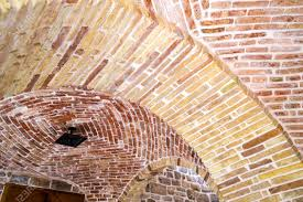 100 Brick Ceiling Element Of An Arch Of Arched Stock Photo Picture