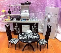 Kitchen And Kitchener Furniture Barbie Dollhouse Kitchen Pine