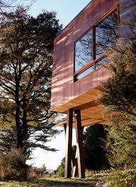 100 Waterfall Bay Pete Bossley Architects House Flodeau