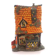 Dept 56 Halloween Village Ebay by Department 56 House Sweet Trappings Cottage Village Halloween