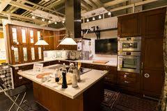 magasin ikea cuisine cuisine dans le magasin de meubles ikea photos stock inscription