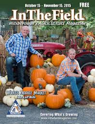 Nichols Boyd Pumpkin Patch Directions by In The Field Magazine Hillsborough Edition By Berry Publications