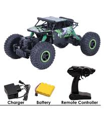 100 Monster Truck Remote Control Yash Toys 120 Powerful Cars For Boys And Kids Rechargeable Battery 24 Ghz Car Rock Crawler Car RC