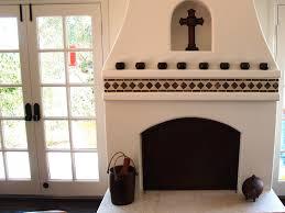 Batchelder Tile Fireplace Surround by Spanish Tile Fireplace Dusty Wheeler Stone U0026 Tile Tile Stone