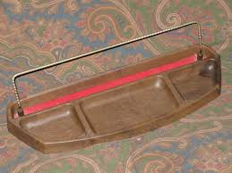 Mens Wooden Dresser Valet by Valet Dresser Caddy Desk Accessory Tray Faux Wood Vintage
