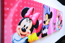 Minnie Mouse Bed Decor by Cute Minnie Mouse Bedroom