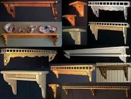 decorative wood shelf brackets custom wood shelves