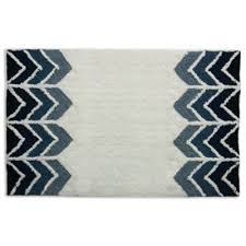 Bed Bath And Beyond Bathroom Rugs by Buy Blue And White Bathroom Rugs From Bed Bath U0026 Beyond