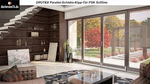 drutex parallel schiebe kipp tür psk softline günstige