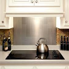 metal wall tiles kitchen backsplash pieces peel n stick stainless
