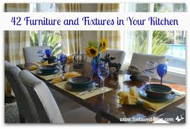 42 Furniture and Fixtures in Your Kitchen Toot Sweet 4 Two