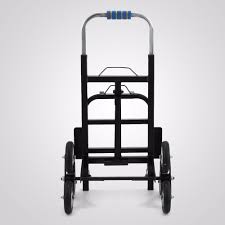 100 Hand Truck Vs Dolly US Stock Portable Stair Climbing Folding Cart Climb