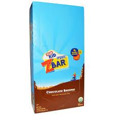 Clif Bar Kid Organic Z Chocolate Brownie 18 Bars