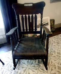 Mt Airy, Shelby County TN. Ca. 1835. Estate Sale. Antique Rocker ... Antique French Louis Style Wooden Rocking Chair Linen Upholstered Chairsantique Arm Chairsoccasional Chairs Vintage Tufted Leather And Mahogany At 1stdibs For Sale Pamono Bamboo Rattan English Traditions Inc Dollhouse Simon Et Rivollet Rocking Chair Penny Toy Rocker Mt Airy Shelby County Tn Ca 1835 Estate Sale La Rochelle