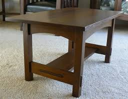 mission oak coffee table mission style coffee table plans free